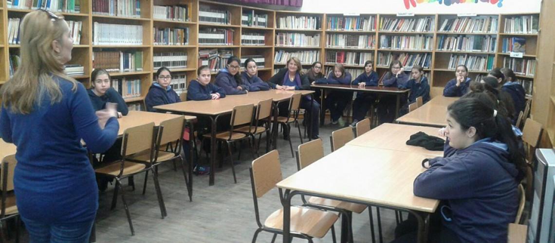 مكتبة المدرسة